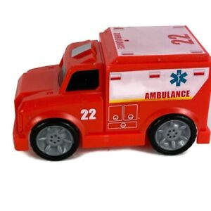 Maxx Action Moving Parts City Series 5 Pcs Ambulance Police Helicopter Fire Lift