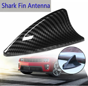 Replacement Shark Fin Fashion Styling Antenna Carbon Fiber Vortex Stereo Cover