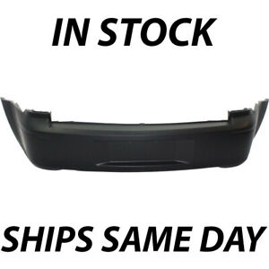 New Primered Rear Bumper Cover Fascia For 2005 2007 Dodge Magnum W Dual Exhaust