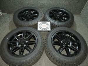 2020 Toyota Tundra Tss 20 Black Wheels Factory Oe P275 55r20 Gdy At Tires 07 20