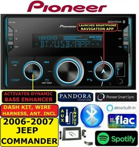 2006 2007 06 07 Jeep Commander Bluetooth Usb Aux Car Radio Stereo Package