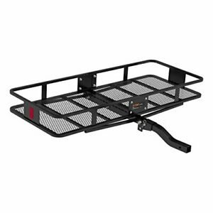 Basket Trailer Hitch Cargo Carrier 500 Lbs 60 inch X 23 1 2 inch X 5 1 2 inch