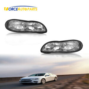 New Clear Headlights Passender Driver Side For Chevy Malibu Chevy Classic