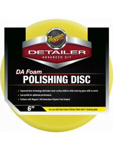 Meguiars Dual Action Foam Polishing Disc dfp6r