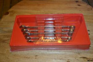 Snap On 5pc Sae Flank Drive 12pt Combination Wrench Set New Sealed 3 8 5 8