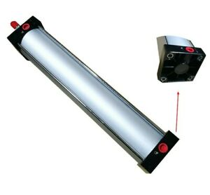 Air Cylinder Pneumatic Standard Cylinder Bore 100mm Stroke 450mm Double Acting