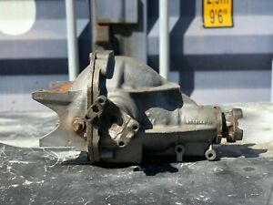 1967 Corvette 427 Au 3 36 Posi Rear End Differential W Pinion Yokes