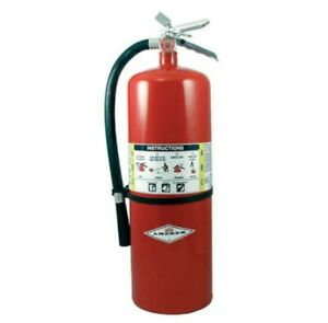 Amerex A411 Fire Extinguisher 10a 120b c Dry Chemical 20 Lb