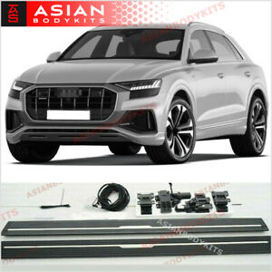 Electric Side Step Running Boards For Audi Q8 2018