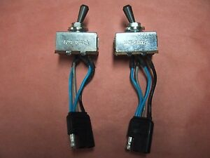 Shelby Console Switches 1969 70 Gt350 500