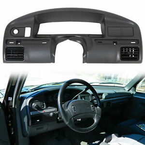 For 94 97 Ford F150 F250 F350 Dash Board Panel Bezel Instrument Cluster Trim