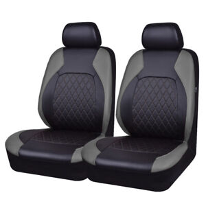 Carpass Car Seat Cover New Arrival 6pcs Grey Color Breathable Leather Breathable