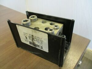 Burndy Power Distribution Block Bdb 24 500 3 Line 2 4 500 Load 4 6 4 0 Used