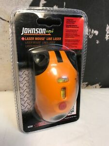 Johnson Level And Tool 9250 Laser Line Level Mouse New