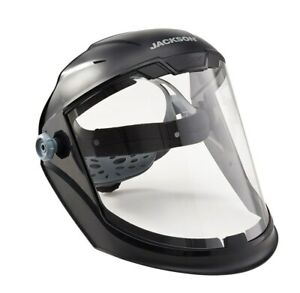 Jackson Safety Maxview Faceshield Clear Pc 14200