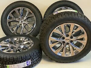 20 Ford F150 King Ranch Oem Rims Wheels Tires Pvd 10003 Set Of 4 Bfg P 2755520