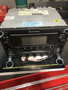 Vw Jetta Golf Passat Mk4 Monsoon Stock Radio Head Unit