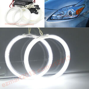 Ccfl Halo Rings Angel Eyes For Toyota Prius 2010 2015 Halogen Headlight Lamp Drl