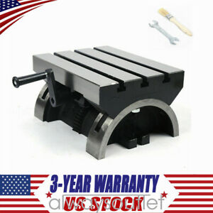 Angle Plates Tilting Milling Table 12 x9 45 Both Sides Adjustable Heavy Duty W