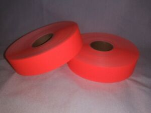 Monarch 1136 Orange Labels 2 Rolls 3 500 Labels free Shipping new