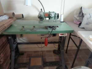Us Stitchline Blindstitch Industrial Sewing Machine Used Model Sl 718 2 d