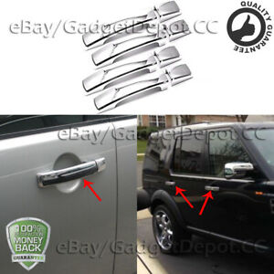 Fits For 2006 2010 Land Rover Range Rover Sport 4 Dr Chrome Door Handle Covers
