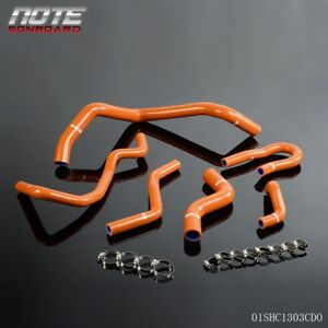 For 92 00 Honda Civic 1 6l Sohc Ex Dx D15 D16 Eg Ek Silicone Radiator Hose