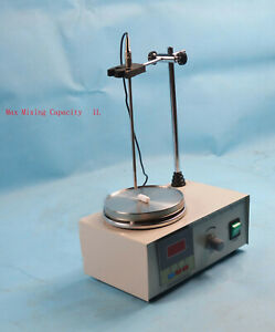 85 2 Magnetic Stirrer With Hot Plate Digital Heating Mixer 110v