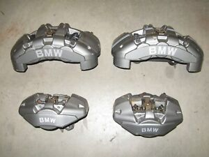 2008 2013 Bmw 135i Left Right Front Rear Performance Brembo Brake Caliper Set