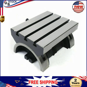 Tilting Table Swivel Angle Plate Tilting Table Heavy Duty For Milling Machine Us