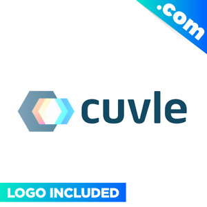Cuvle com Brandable Domain Name For Sale Premium Logo One Word 1 Tech Letters It