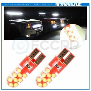 Eccpp T10 168 White Error Free Canbus Led License Light For Toyota 18smd