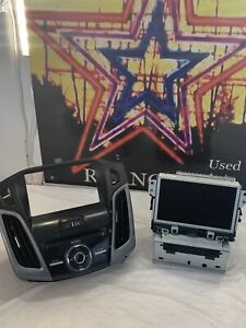 2013 2014 Ford Focus Sony Sync 2 Navigation Nav Radio Head Unit W Trim Oem