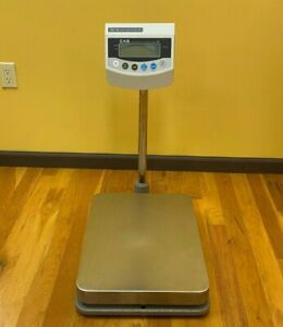 Used Cas Bw 150 Digital Bench Scale 300lb Legal For Trade With Power Adapter