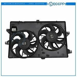 Radiator Condenser Cooling Fan Assembly For 1999 2000 2001 2002 Mercury Cougar