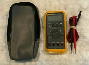 Fluke 87 Iii True Rms Multimeter With Leads And Soft Case
