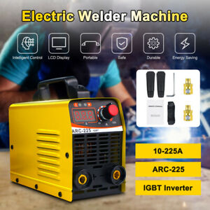 Mini Igbt Arc Welding Machine Mma Electric Welder 110v 225a Dc Inverter