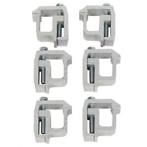 6 Truck Cap Topper Camper Shell Mounting Clamps Heavy Duty Tl 2002