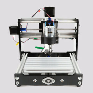 1018 Pvc Mini Carving Machine 3 Axis Cnc Router 2 phase Stepping Motor 100v 240v