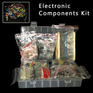 Leds Electronic Component Kit Resistance Electrolytic Capacitor Equipment