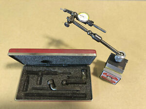 Starrett 657a Magnetic Base 711 Last Word Dial Test Indicator Machinist Tools