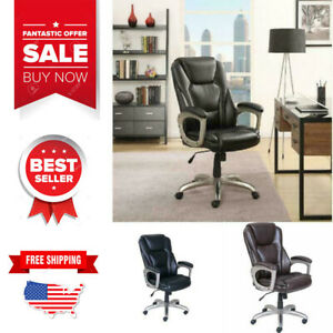 Serta Big And Tall Commercial Office Chair With Memory Foam Comfort Up To 350lbs