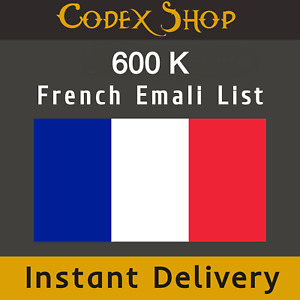 600k France French Consumer Email List Sales Database