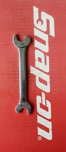 Snap On Tools 9 16 X 5 8 Double Open End Ratcheting Speed Wrench Rs1820a
