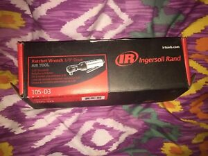 Ingersoll Rand Air Ratchet Wrench 3 8in drive