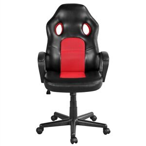 Leather Executive Office Desk Chair Ergonomic Swivel Computer Chair Gaming Chair