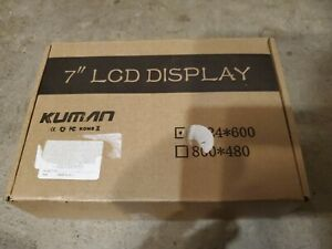 Kuman 7 Inch Capacitive Touch For Raspberry Pi Screen Lcd Display Hdmi Input 10