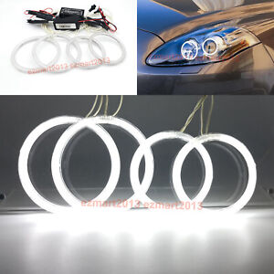 Ccfl Angel Eye Halo Rings For Fiat Bravo198 Headlight 2007 2008 2009 2010 2015