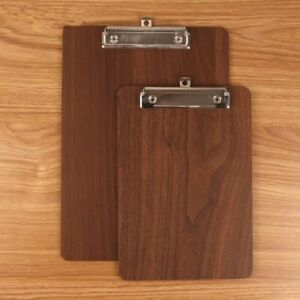 Memo Clipboard A4 A5 Wooden Meeting Record Writing Clip Board Can Folder File