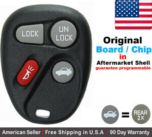 1x Oem Replacement Keyless Remote Control Key Fob For Chevy Cadillac Gmc